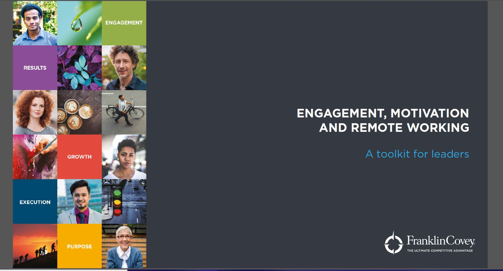 engagement, motivation and remote working